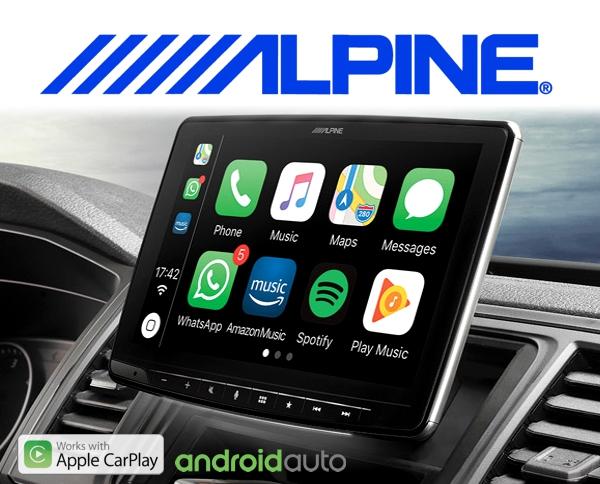 alpine ilx f903d halo 9 9 digital media station motorguard. Black Bedroom Furniture Sets. Home Design Ideas